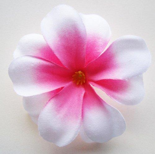 24-White-Pink-center-Hawaiian-Plumeria-Frangipani-Silk-Flower-Heads-3-Artificial-Flowers-Head-Fabric-Floral-Supplies-Wholesale-Lot-for-Wedding-Flowers-Accessories-Make-Bridal-Hair-Clips-Headbands-Dres