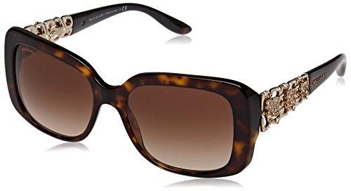 Bvlgari Sunglasses 8167B 504/13 Dark Havana Brown - Bvlgari Glasses
