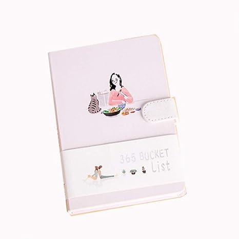 YWHY Cuaderno A5 Papelería Cuaderno Lindo De Kawaii 365 ...