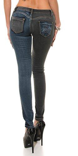 KouCla - Jeans - Femme bleu bleu/noir L