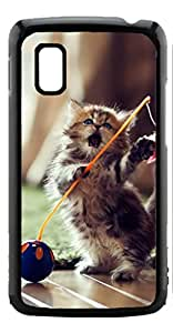 HeartCase Hard Case for Google Nexus 4 LG E960 ( Cat Cute )