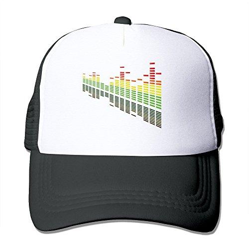 (LKSJSADJ Cocktail DJ Shadow Dubai DJ Sun Remix Trucker Hat Black)