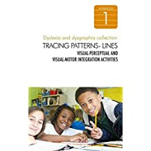 Dyslexia and Dysgraphia Workbooks for Kids - Tracing Patterns and Lines - Visual-Perceptual and Visual-Motor Integration Activities - Special Education Colletion