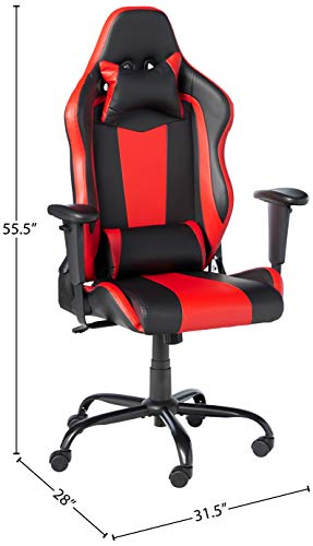 PC Gaming Chair Big and Tall Office Chair 400lbs Wide