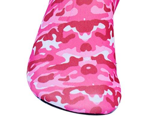 Unisex Water Schoenen Blootsvoets Huid Schoenen Voor Hardlopen Duik Surfen Zwemmen Strand Yoga Rubber Skidproof Sneldrogend Strand Schoenen Camouflage