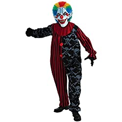 Forum Novelties Men's Creepo The Clown Costume, Multi, One Size