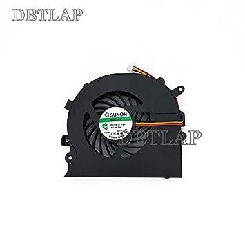 DBTLAP Ventilador de la CPU del Ordenador Portátil para Sony EA Eb VPC-EA VPC-Eb VPCEB VPCEA Ventilador UDQFRZH14CF0 300-0001276 478-446-01 EA Eb Portátil ...