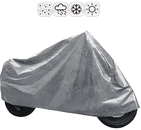 Tarpaulin For Scooter Motorcycle Vespa Cover Sun Snow Rain Universal Auto