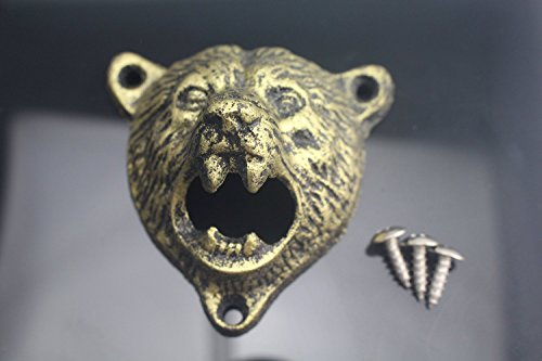Teeth Bottle Opener Grizzly Screws product image