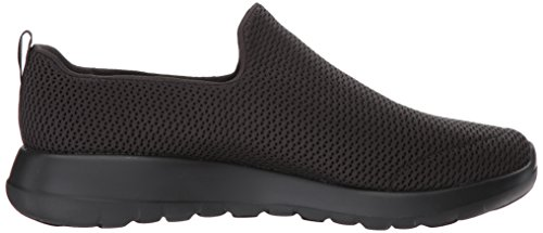 Walk Max Go Skechers Mens Trainers Mesh Nero Nero g17REAR
