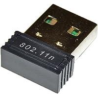 JavGear USB WiFi Adapter Wireless Network 150Mbps Mini Nano Size for Windows 10, Mac OS, Linux, Raspberry Pi / Pi2