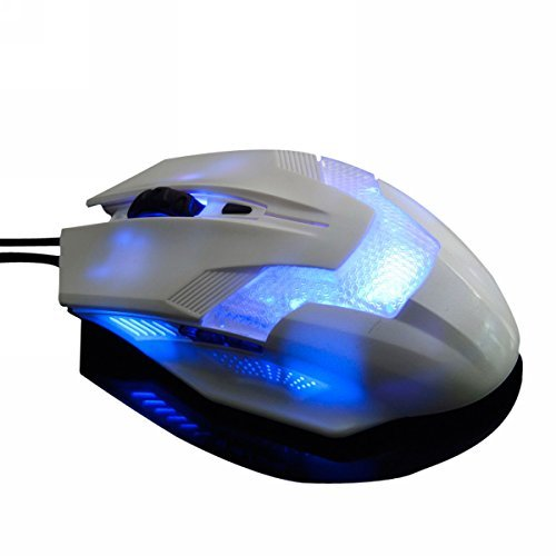 2000DPI USB Wired Gaming Mouse Black - 6