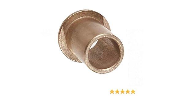 Oilube Powdered Metal Bronze SAE841 Flange Bearings INCH Item # 402206