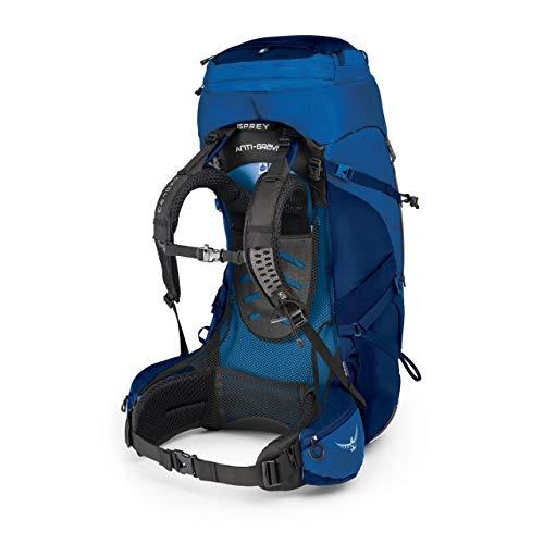 Osprey Packs Aether Ag 85 Backpack, Neptune Blue, Sm, Small
