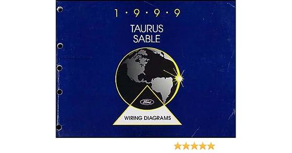 1999 Ford Taurus & Mercury Sable Wiring Diagram Manual Original: Ford:  Amazon.com: BooksAmazon.com