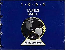 1999 ford taurus \u0026 mercury sable wiring diagram manual original 1999 Ford Taurus Owner's Manual
