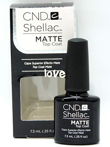 CND Shellac GelColor Nail Polish/Base/Top/Brand New Gel Color #1 - Choose Any 91731- Shellac Small Matte Top Coat ()