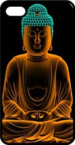 Buddha Buddhism Happiness Peace Black Rubber Case for Apple iPhone 6 Plus