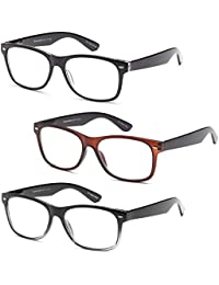 Gamma Ray Deluxe Reading Glasses with Spring Hinge...