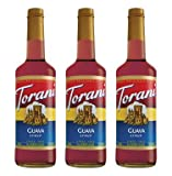 Torani Guava Syrup 750-ML (Pack of 3)