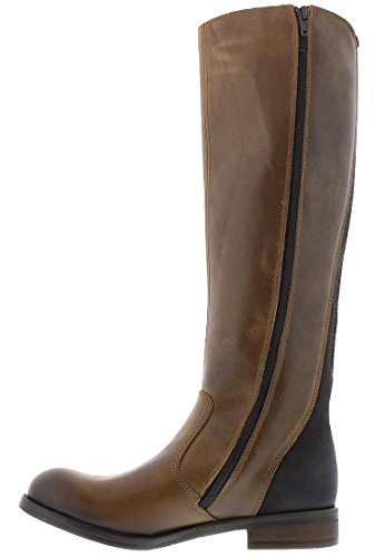 de chocolate Correr para Marrón Botas London FLY Camel Axil078fly Mujer aw1Rt4