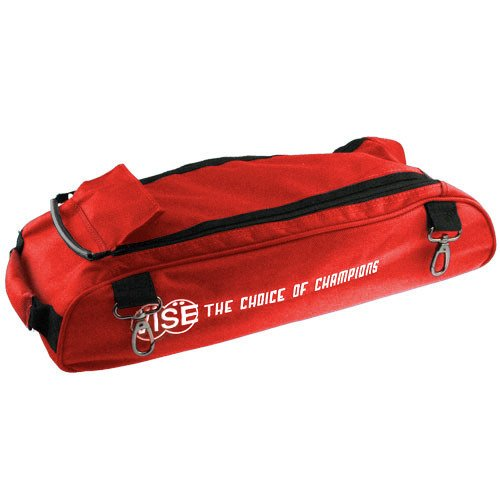 Vise Shoe Bag Add-On Three Ball Tote, Red