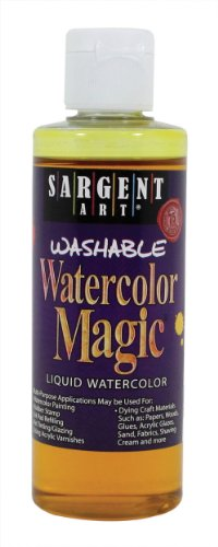 Sargent Art 22-6202 4-Ounce Watercolor Magic, Yellow ()