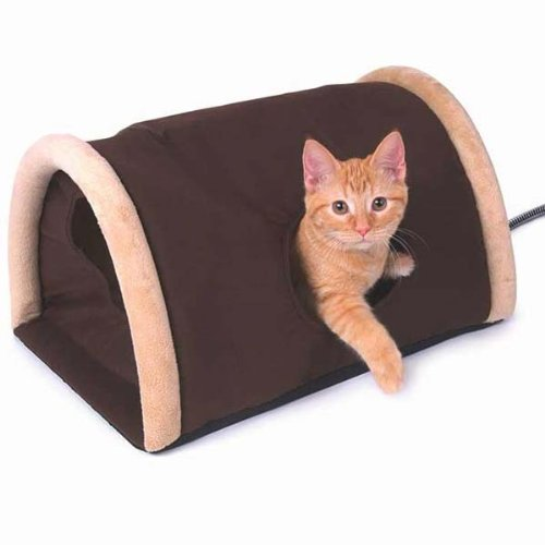 Outdoor Heated Kitty Camper with Heated Pad, My Pet Supplies