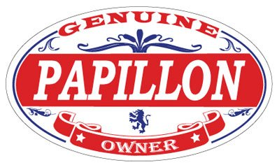 Papillon Oval Magnet ()