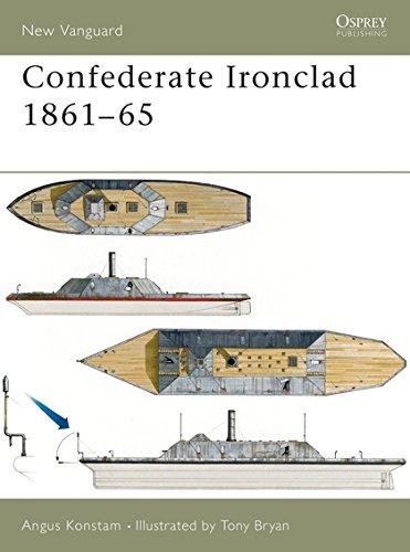 Confederate Ironclad 1861–65 (New Vanguard)