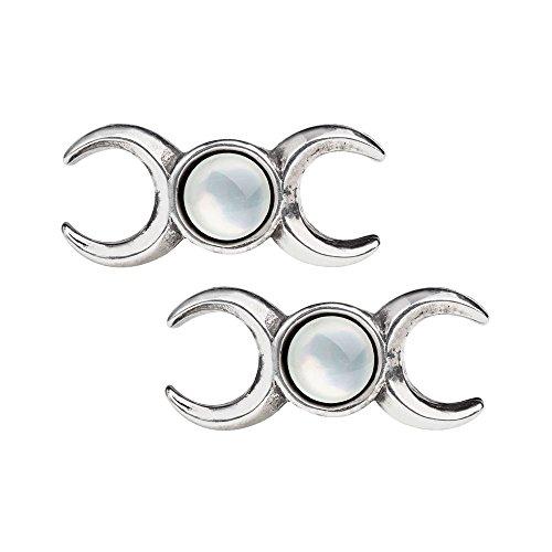 Goddess Celtic Earrings (Triple Goddess Studs)