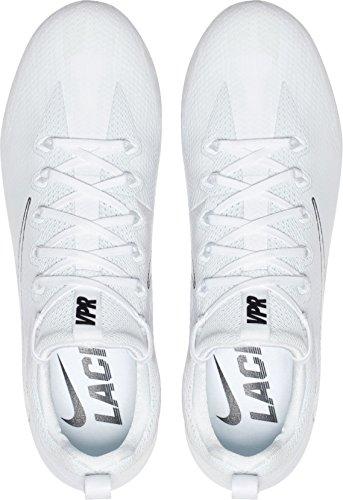 ... Canada Mens Damp Untouchable Pro Lacrosse Klossene (hvit / Sort, 16 D (m