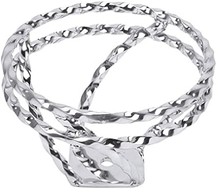 Full Double Twisted Swirl Steering Wheel Chrome.
