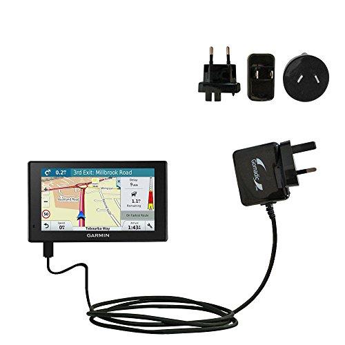 Un Chargeur Secteur (100 - 240 V AC) Compatible Avec le Garmin DriveAssist 51-LMT équipé de la Fonction Veille