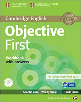 Book Objective First for Spanish Speakers Workbook with Answers with Audio CD