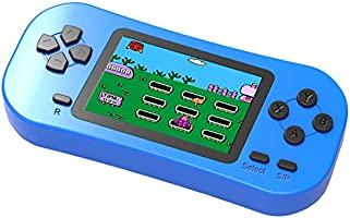 Douddy Kids Retro Handheld Game Console Built in 218 Old School Video Games 2.5'' Display USB Rechargeable 3.5MM...