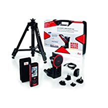 Leica Geosystems Disto D810 Laser Distance Measurer Pro Kit with Hard Case, TRI70 Tripod, FTA360 Adapter, Red/Black