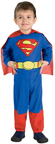 Superman Jumpsuit (Superman Jumpsuit, Superman Print, 6-12 Months Costume)