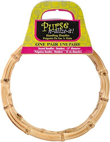 (Blumenthal Lansing Company Handbag Handles, Round, 2 Piece)