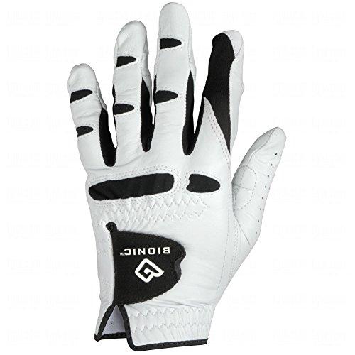 (Bionic Glove Mens Stablegrip With Natural Fit Golf Glove XXL White Left)