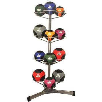VTX por Troy Barbell balón medicinal Rack Set: Amazon.es: Deportes ...