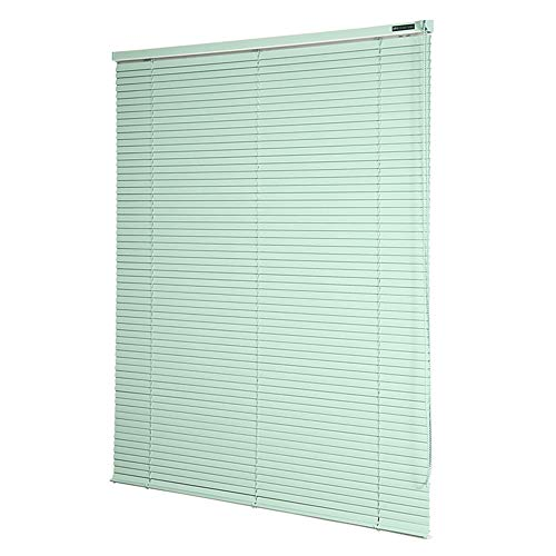 AQAWAS Cordless Blinds for Windows, Magnetic Blinds Shade, Fabric Blinds Easy Install Home Furnishings, for Steel Metal Door Windows,Green_37x48in/95×122.5CM
