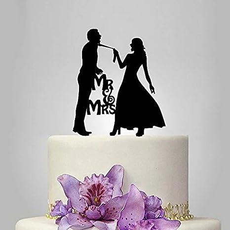 Amazon Com Mr Mrs Kissing Couple Silhouette Acrylic Wedding