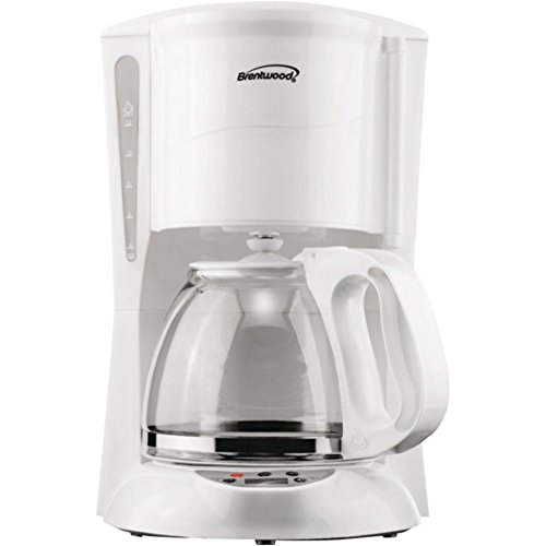 BRENTWOOD TS-218W 12-Cup Digital Coffee Maker Home & Garden