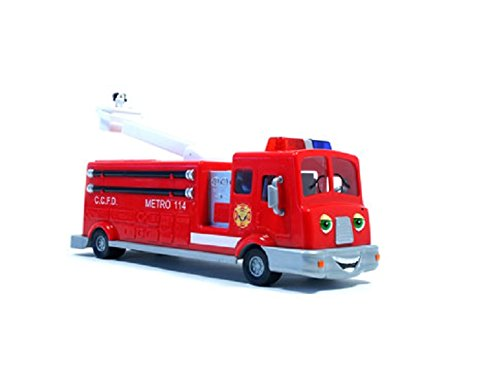 The Chevron Cars Fuller Fire Truck No 42 2008 CollectibleToy Truck (Chevron Car)