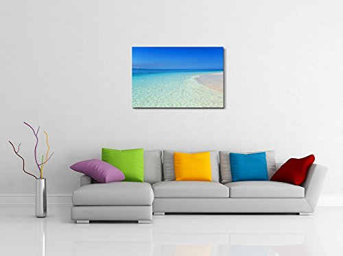 Gorgeous Beach in Summertime Beautiful Landscape Home Deoration Wall Decor