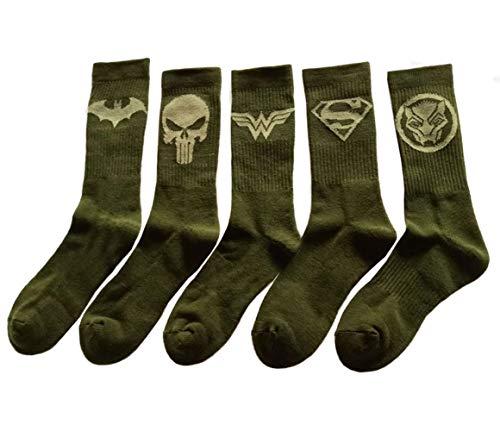 Mens Cotton Dress Socks Wedding Groomsmen Socks Size 8-13 MultiPack ()