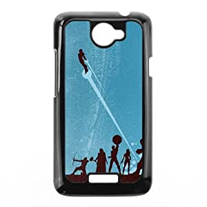 HTC One X Cell Phone Case Black Avengers JIH Generic Phone Cases Clear