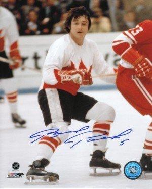 (Brad Park Signed Autograph Team Canada 8x10 Photo - Authentic Autograph)