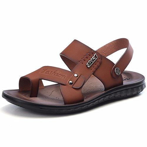 estate Il nuovo Scarpe da spiaggia Uomini gioventù personalità Uomini Tempo libero Uomini sandali infradito tendenza ,Marrone11,US=6.5?UK=6,EU=39 1/3?CN=39